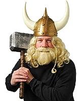 US Toy One Adult Plastic Viking Helmet