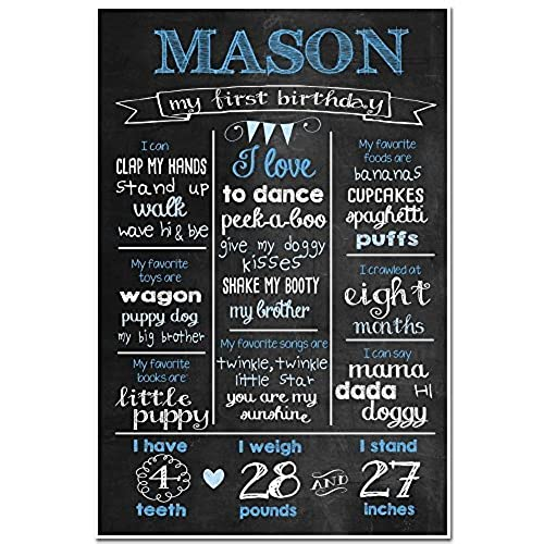 1st Birthday Chalkboard Amazon Com