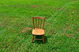 Product review for Handmade Old Fashioned Amish Made Quality Product with Solid Oak Light Oak Finish Childs Play Chairs (Set of One) Measurements Are 12 3/8 X 12 3/8 X 24 1/2 and From the Ground to the Seat Is 11 1/2