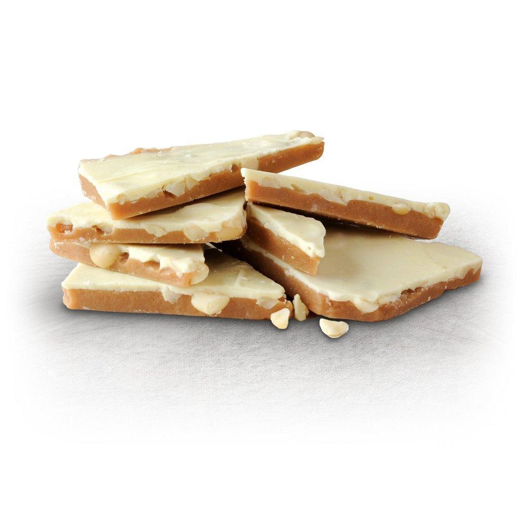 White Chocolate Macadamia Nut Toffee- Pack of 2 (8oz. gift bag)