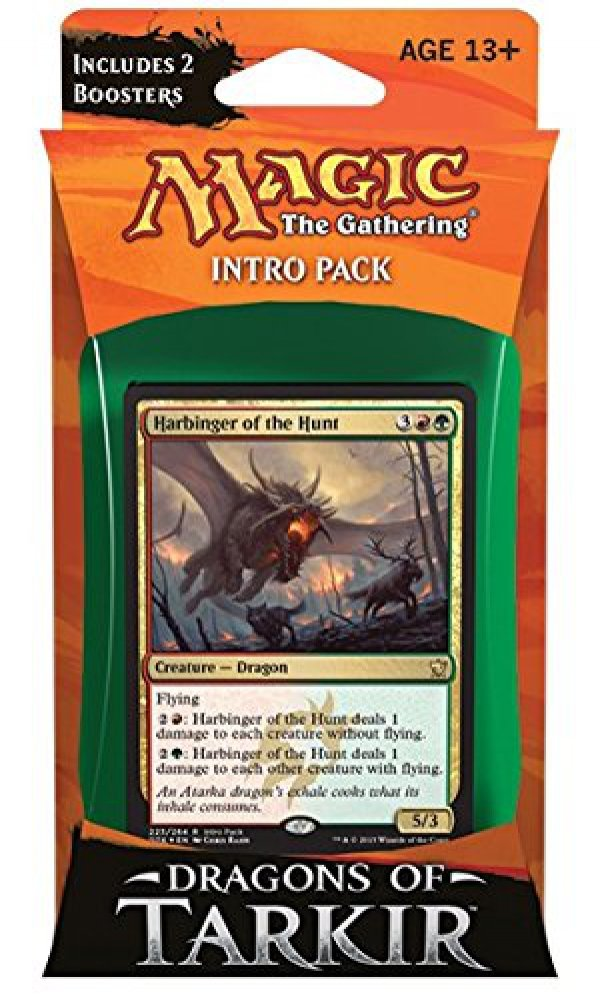 Magic The Gathering Dragons of Tarkir Furious Forces Intro Deck