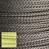 400lb 1.7mm 100% Dupont Kevlar Braided Line, Cut Resistant, Low Stretch,Heat Tolerant to 800º+f (heavy duty speargun band constrictor, model rocket paracord, survival/tactical utility cord)