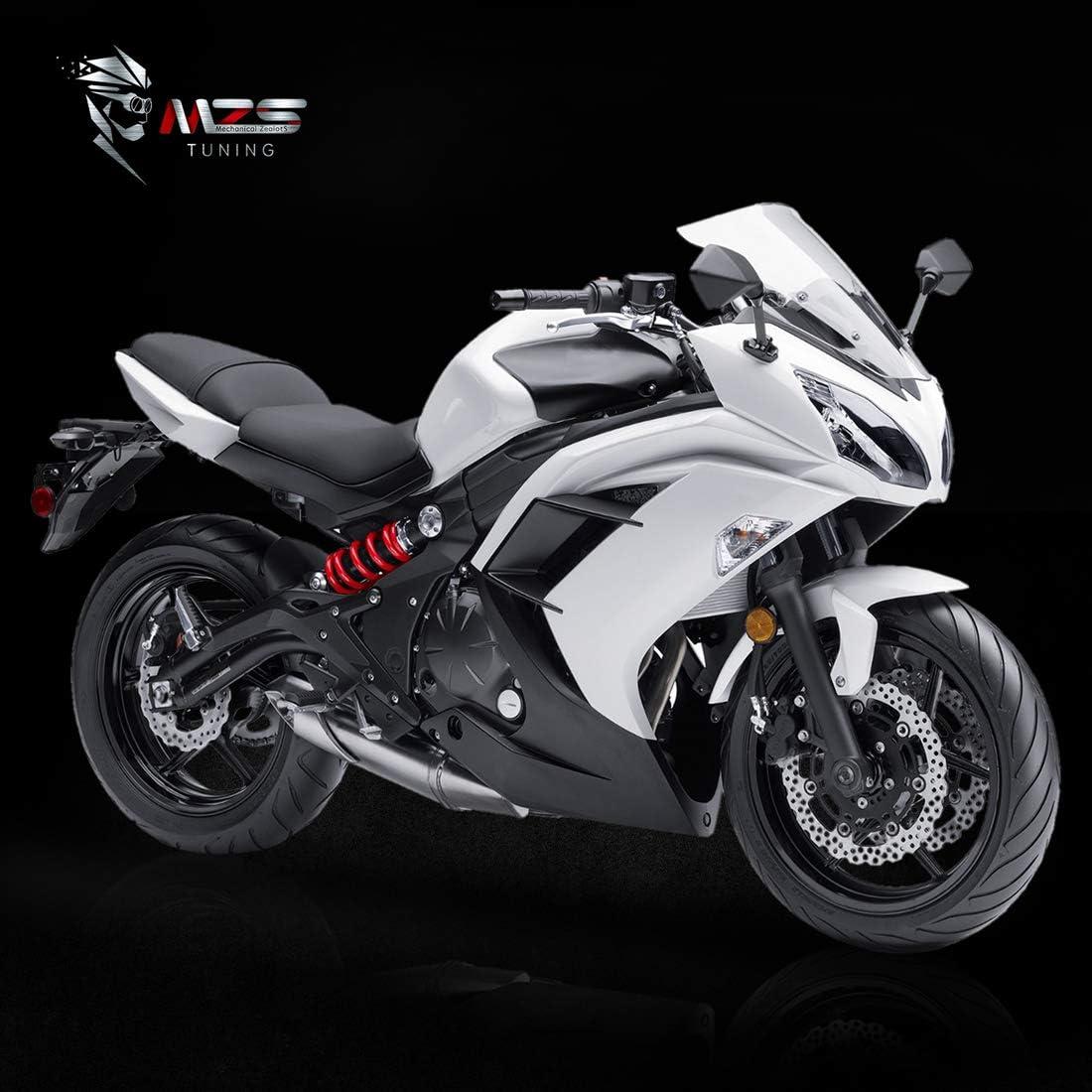 Amazon.com: MZS Espejos retrovisores para motocicleta ...