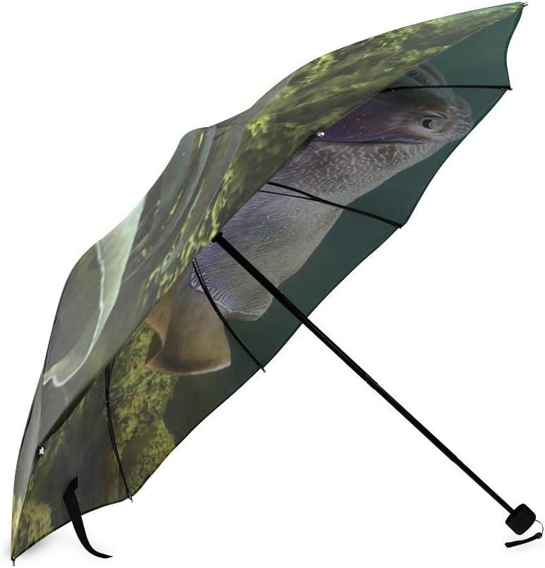 Custom Squid Compact Travel Windproof Rainproof Foldable Umbrella