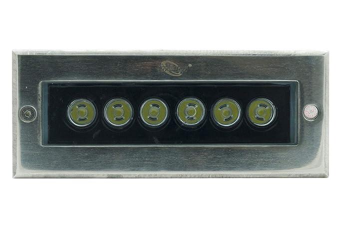 Illuminazione Da Esterno Calpestabile : Faro faretto da incasso a led per esterno segnapasso