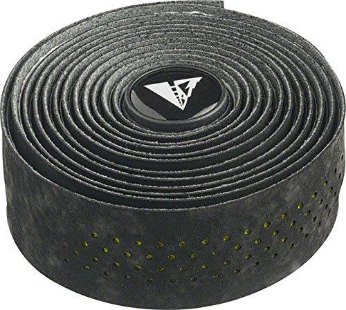 (Profile Design Perforated Road Bicycle Handlebar Tape (Black/Hi-Vis Green))