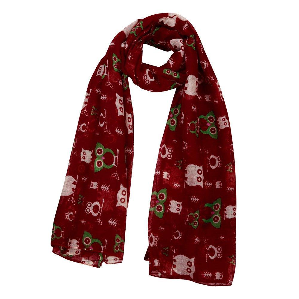 Kaiki 2018 Merry Christmas Women Printed Snowflake Satin-Silk Square Scarf Shawl