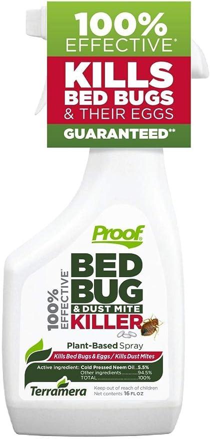 Amazon Com Proof Bed Bug Dust Mite Killer Spray Large Garden Outdoor
