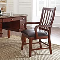 Steve Silver Montibello Dining Chair in Brown