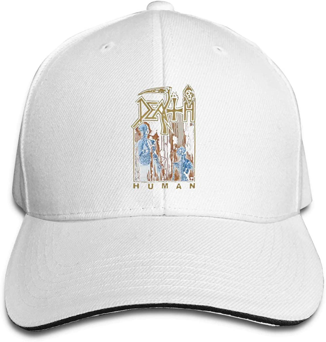 Death Men S Human Adjustable Sports Hats Sun Hat for Men and Women