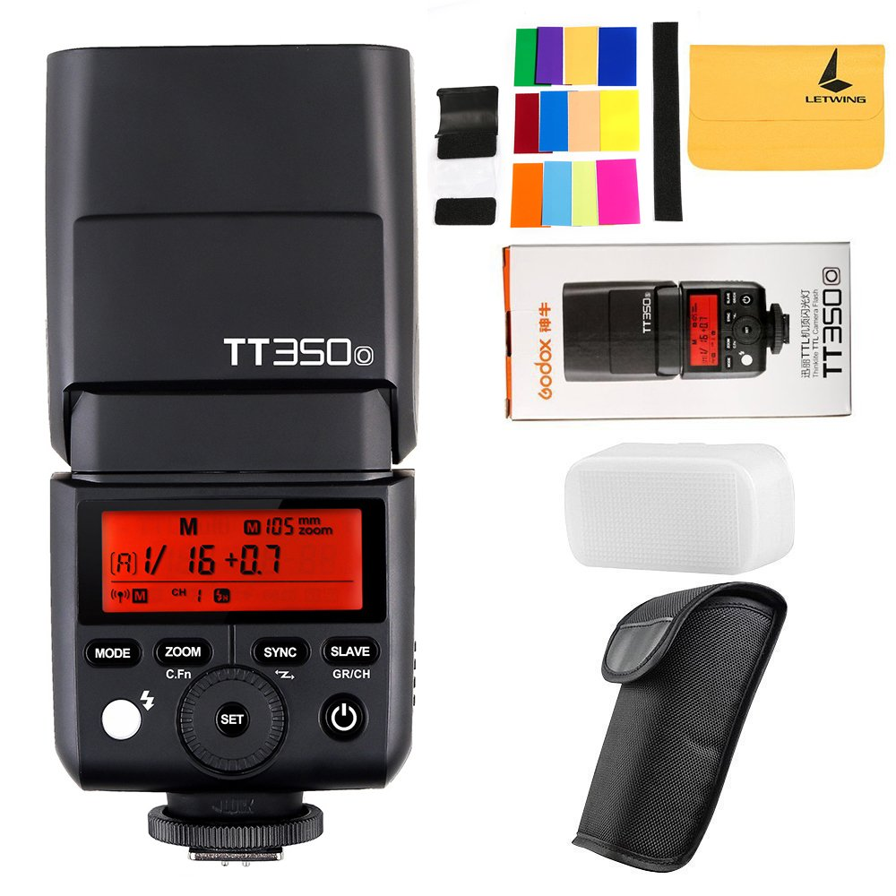 GODOX TT350o 2.4G HSS 1/8000s TTL GN36 Camera Flash Speedlite for Olympus/Panasonic Mirrorless Digital Camera