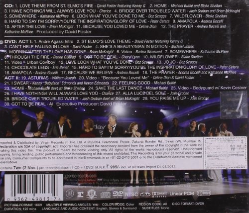 You're the Inspiration: the Music of David Foster and Friends (Incl. Bonus DVD) by 101 DISTRIBUTION (Image #1)