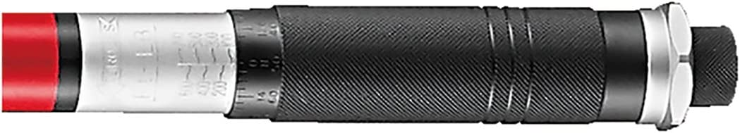 "Storage Case 3//4/"" Drive Adjustable Click Torque Wrench 100-700 ft//lb Cr-V Steel"