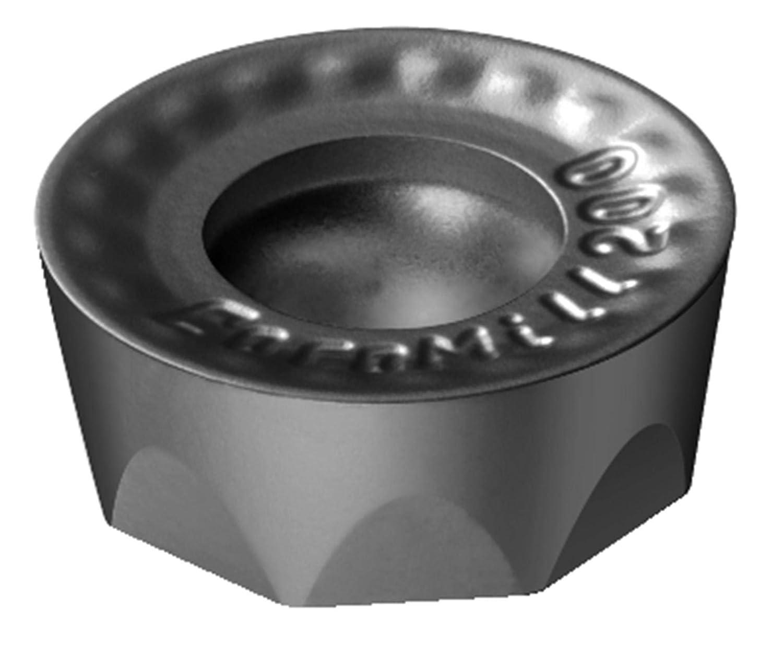 Pack of 10 Carbide Round Sandvik Coromant RCKT 20 06 M0-PH 1130 Coro Mill 200 Insert for Milling 1130 Grade AlTiCrN Zertivo Technology Neutral Cut