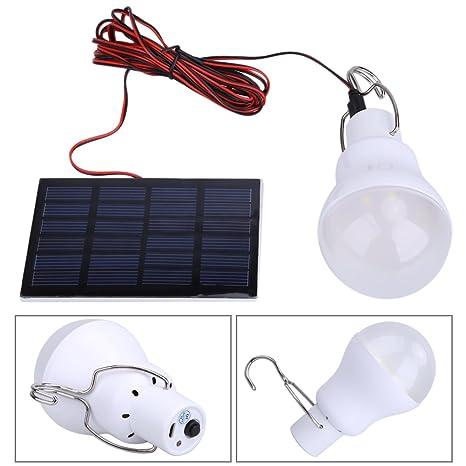 LED Lámpara Solar Bombilla de Demiawaking Voltage 0.8W/5V con Batería 750ma / 3.7