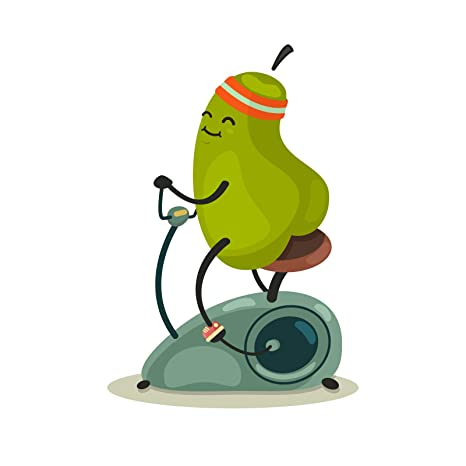 Amazon.com: Ninja Pickle Healthy Pear Decal for Your Car Or ...