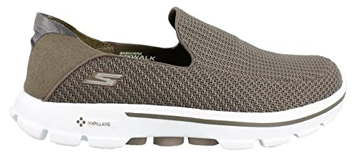 Skechers Uomo Pantofole Beige Size: 11 D(M) US: Amazon.it ...