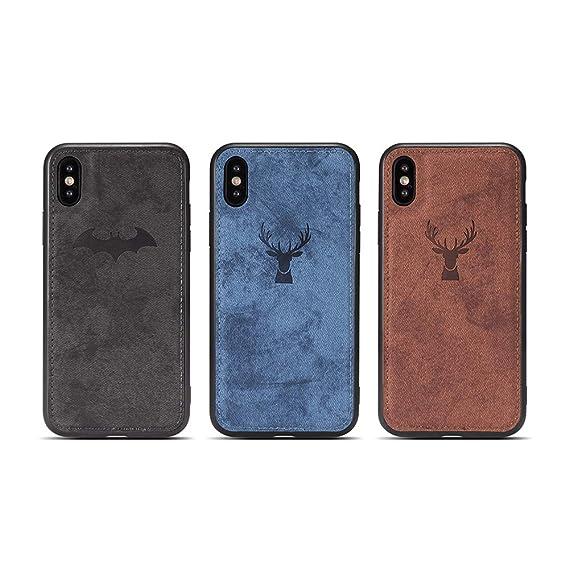 iphone xs pu leather case
