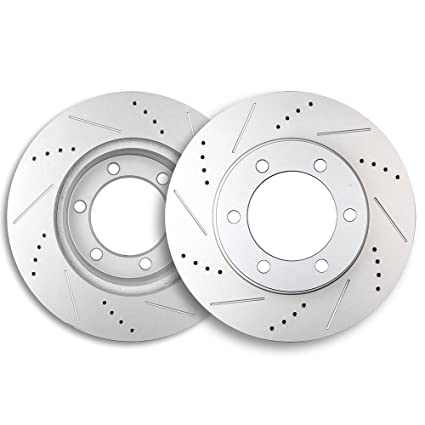 Front Disc Brake Rotor 2PCS For 2007-2017 Toyota Tundra