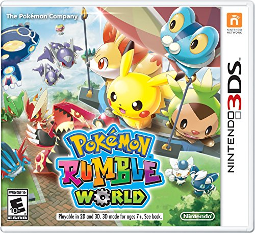 Pokemon Rumble World Nintendo 3DS Standard