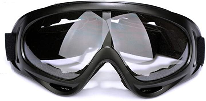 UV Protection Windproof Dustproof Outdoor Sports Skiing Goggles Helmet Compatible Snow Goggles Cycling Motorcycle Snowmobile Ski Goggles Outdoor Sports Ski Glasses