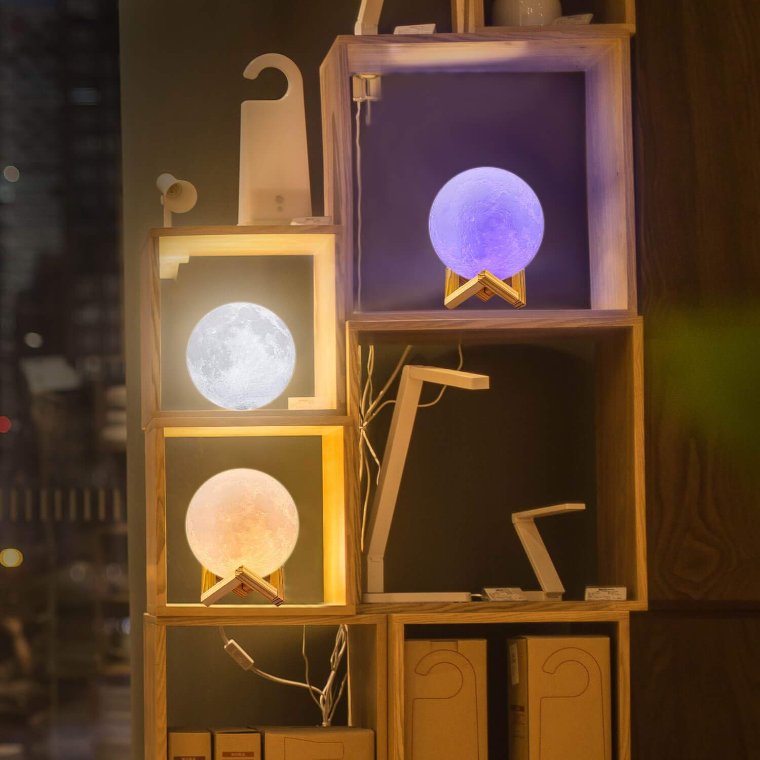 unique gift ideas Amazon moon lamp cool lamp sun light for people scared of the dark