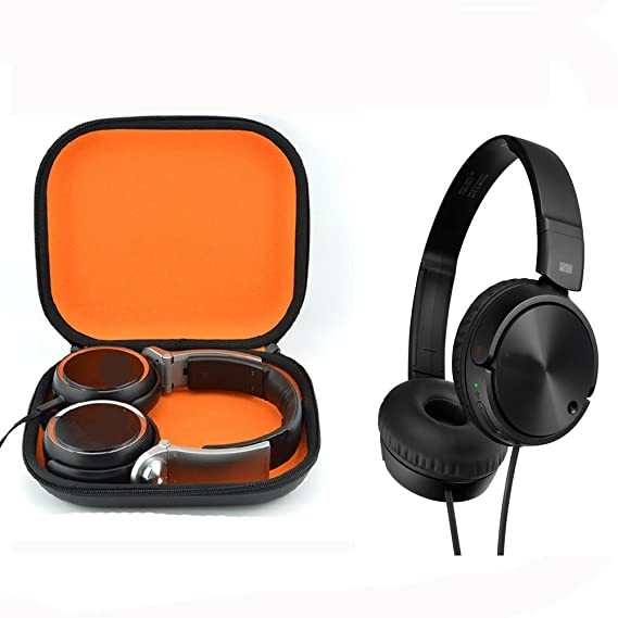 7597a2b20a5 Hard Carrying Bag Headphones Case for Sony MDRZX110NC Noise Cancelling  Headphones MDRZX110 ZX Series Stereo /