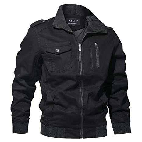 Clearance Forthery Mens Casual Military Jacket Windbreaker Jacket Outdoor Coat Outwear at Amazon Mens Clothing store: