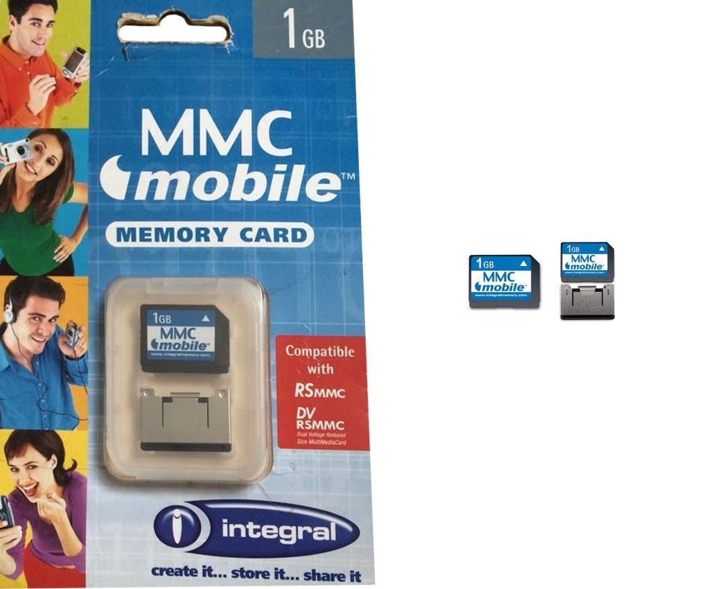 Tarjeta de Memoria MMC Mobile Capacidad 1 GB Marca Integral ...