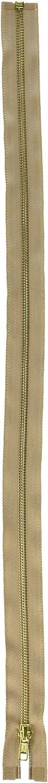 Coats Thread /& Zippers and CLARK Heavyweight Brass Separating Metal Zipper 18 Navy