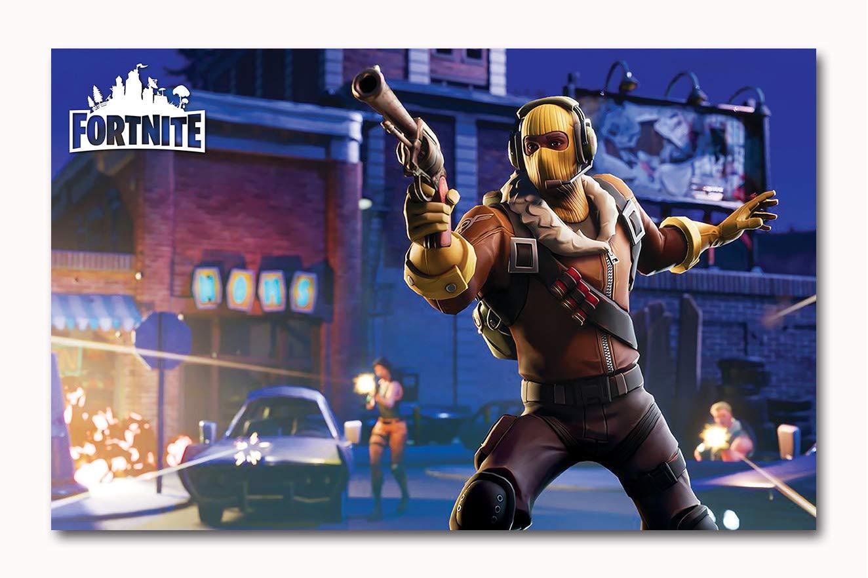Tamatina Gaming Wall Posters PS4 Gaming Posters (Multicolor