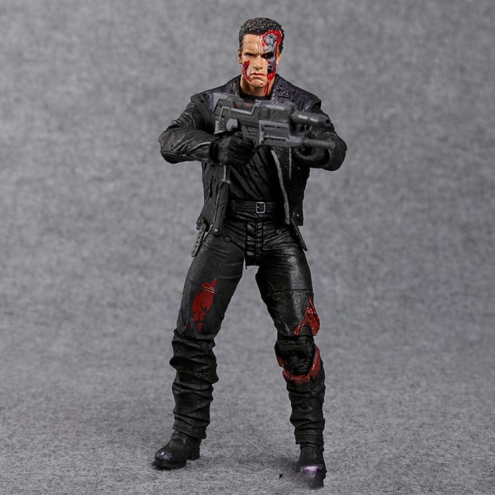 The Terminator T-800 Arnold Schwarzenegger PVC Action Figure Collectible Model Toy 7 18cm MVFG346