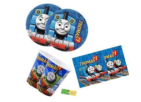 irpot- Juego 72 unidades coordinato Tabla tren Thomas para ...