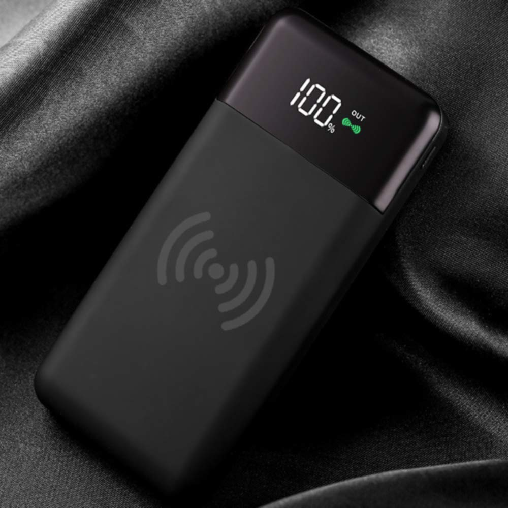 Tecnostudio Cargador Wireless Power Bank, Cargador Portátil ...