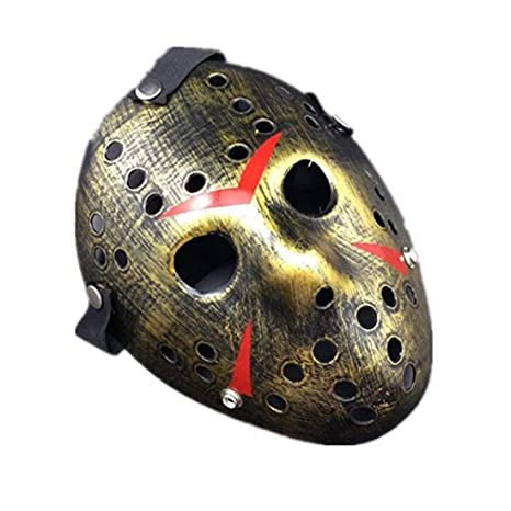 Mywaxberry Halloween Festival Freddy War Golden Jason Costume Party Cosplay Mask by Mywaxberry