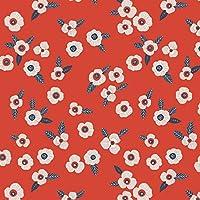 Tissu Batiste Mini Labo - Atelier Brunette - Garance x10cm