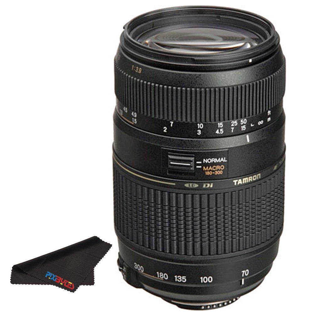 Tamron AF 70-300mm f/4.0-5.6 Di LD Macro Zoom Lens with Built In Motor for Nikon Digital