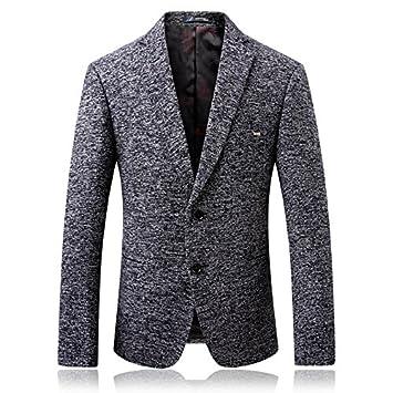 Leisure Suit Jacket mens chaqueta de traje traje de lana ...