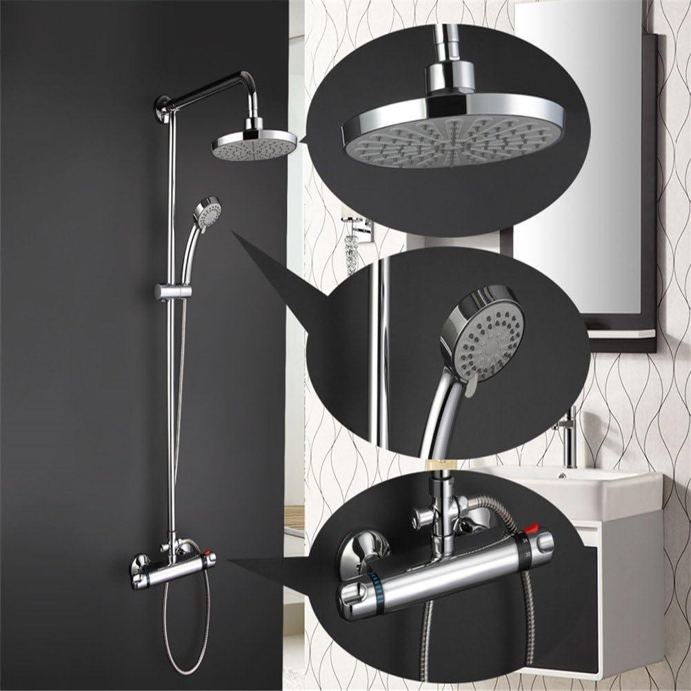 JERUI Grifos de la ducha de la lluvia del cuarto de baño Grifo del ...
