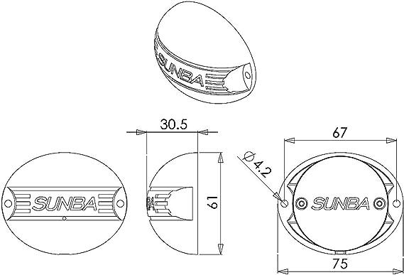 Micrófono de Recepción de Audio Impermeable para Exterior Sunba ...