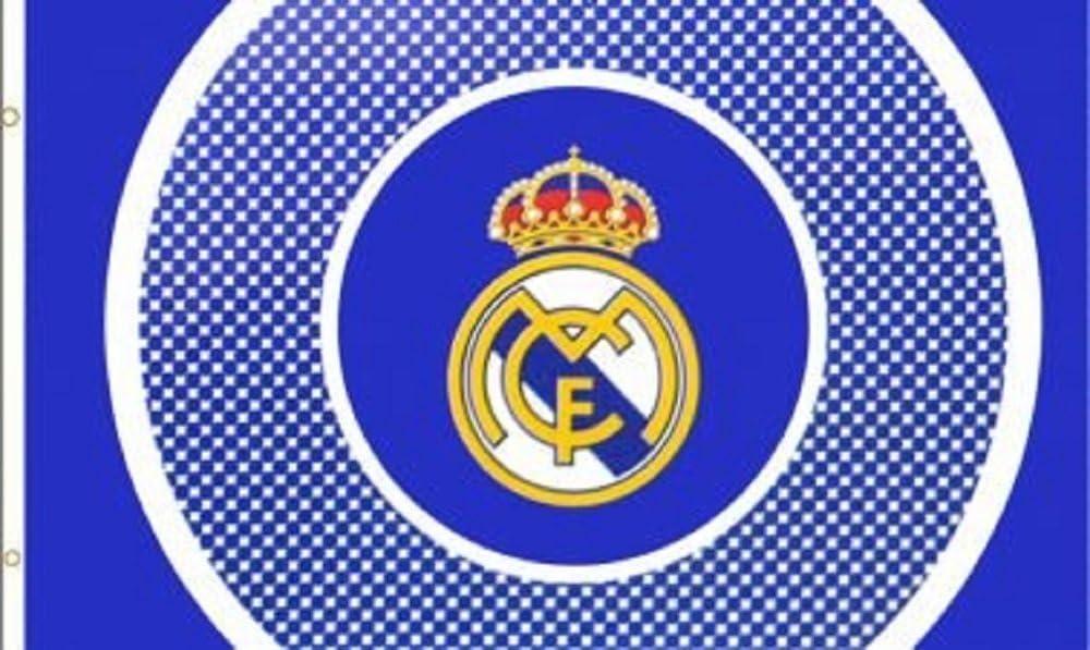 Real Madrid España equipo de fútbol Bullseye – bandera oficial ...