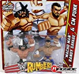 MACHO MAN RANDY SAVAGE & CM PUNK - WWE RUMBLERS TOY WRESTLING ACTION FIGURES [Toys & Games] Holiday Toy