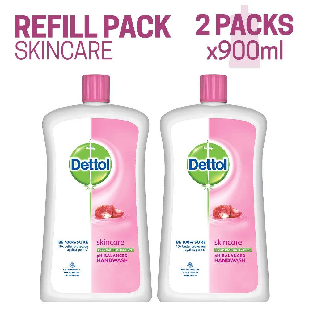 Dettol Skincare Liquid Soap Jar - 900 ml (Pack of 2) product image