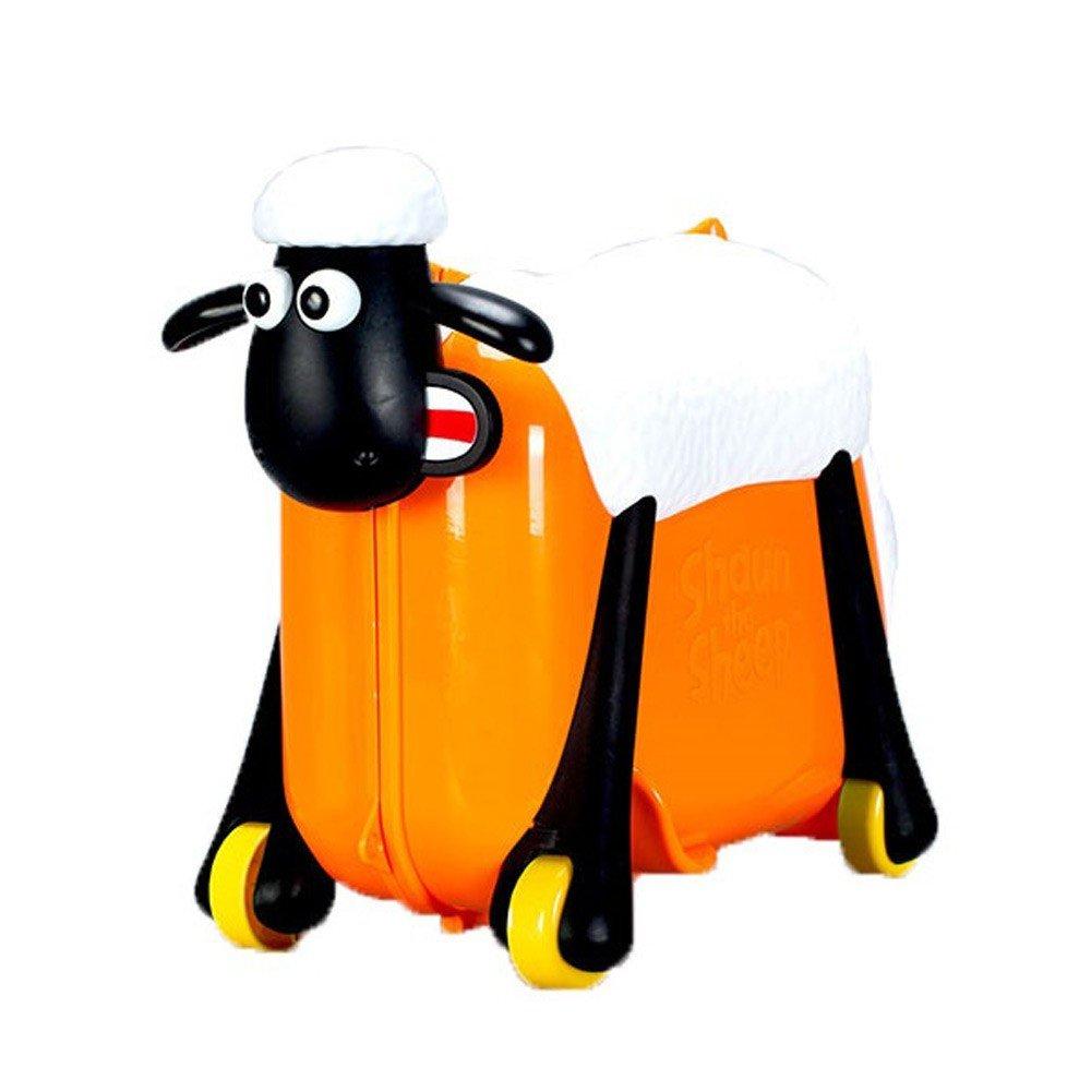 Shaun the Sheep Ride-On Suitcase Orange
