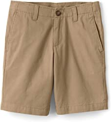 54bf7c6144 Lands' End Boys Husky Chino Cadet Shorts