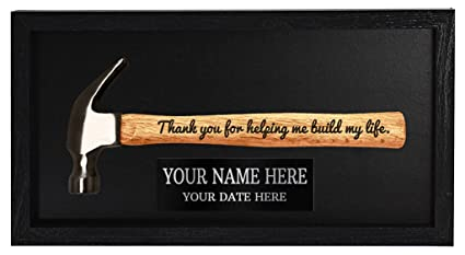 4d0614a59f3f0 Personalized Father Day Gift for Dad or Grandpa Thank You for Helping Me  Build My Life