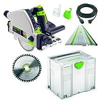 Festool TS 55RQ Plus–Conjunto de sierra–FS–Nº 712634+ HW–Hoja de sierra HM–En Systainer