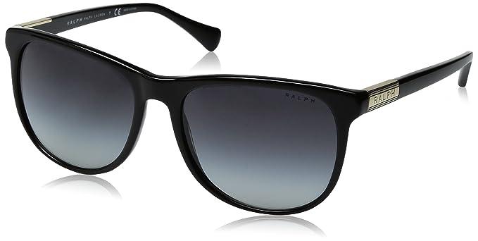 RALPH Womens 0RA5224 162814 Sunglasses, Berry Horn Gradient/Berry Hrn/Brownrosegradient, 58 Ralph Lauren