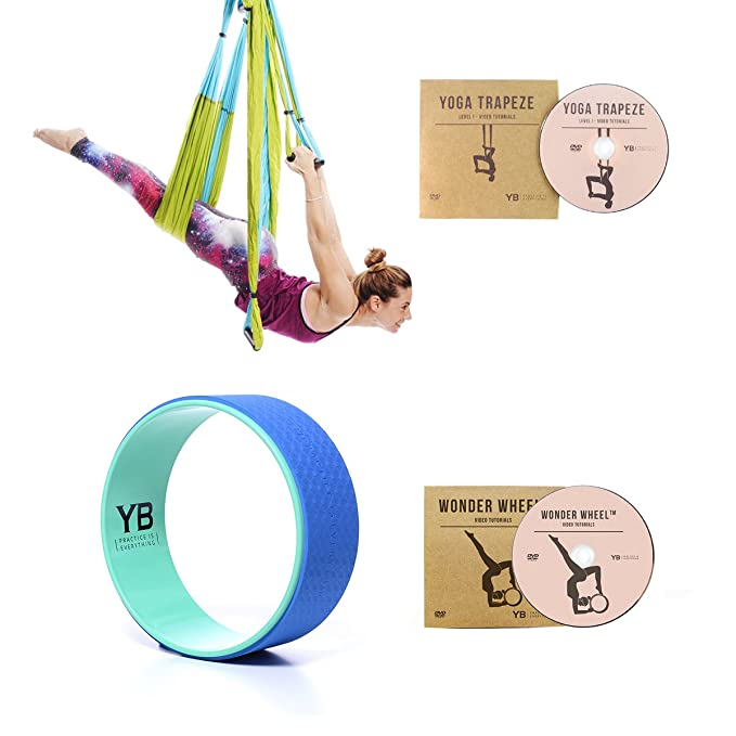 Amazon.com: Bundle – 2 Artículos: Yoga Trapecio Blue & Yoga ...