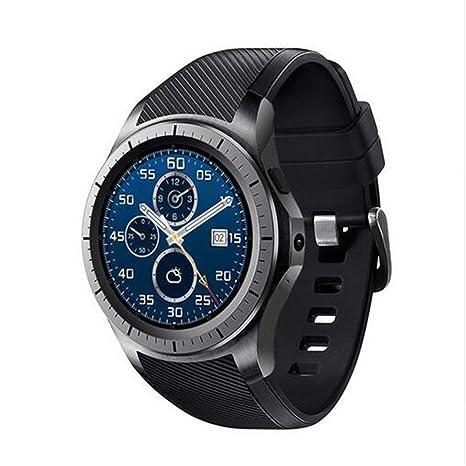 Amazon.com: Redondo reloj inteligente reloj gw11 GW10 apoyo ...